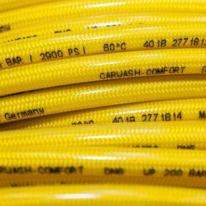 Furtun presiune 200 bar 60C galben pentru spalatorii