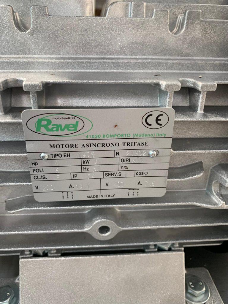 motor Ravel 3kw